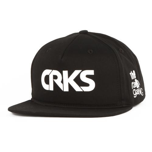Бейсболка CROOKS & CASTLES Label Snapback Cap (Black, O/S) unique numbers label adjustable baseball cap