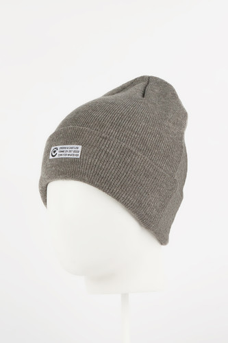 Шапка CROOKS & CASTLES Stellar Ladies Beanie Hat (Heather Grey)