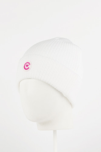 Шапка CROOKS & CASTLES Midnight Ladies Beanie Hat (White)