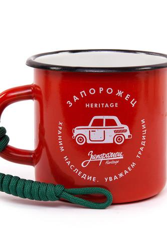 Кружка ЗАПОРОЖЕЦ Машина (Красный)