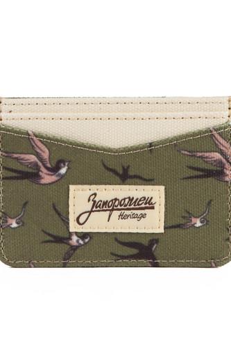 Визитница ЗАПОРОЖЕЦ Card Holder (New Green)