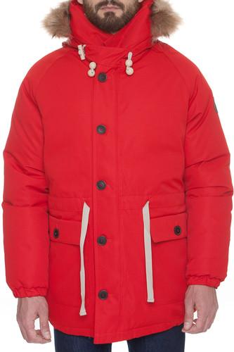 Куртка DEVO Peter Freuchen (Red, L) 12storeez варежки с меховой опушкой бежевый