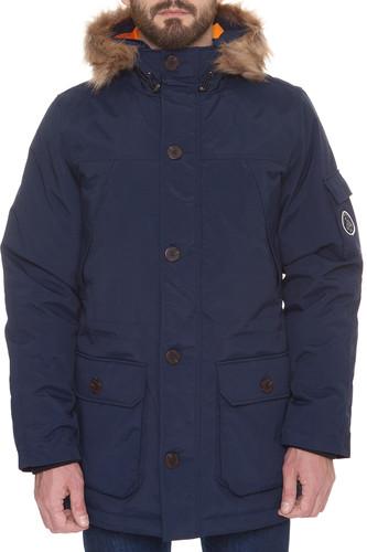 Куртка S.G.M. Svalbard (Dark Blue, M) 12storeez варежки с меховой опушкой бежевый