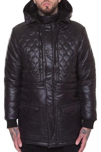 Куртка CROOKS & CASTLES Nebula Bubble Jacket (Black, XL)