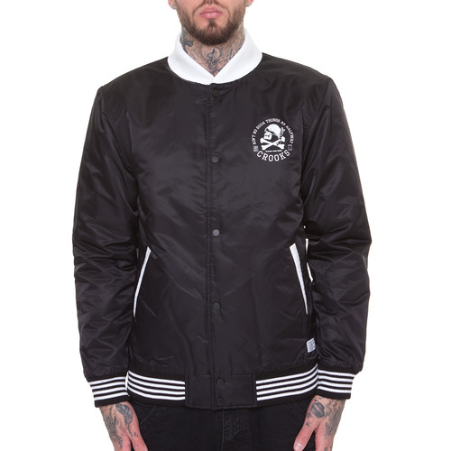 Куртка CROOKS & CASTLES Members Bomber Jacket (Black, XL) куртка revolution jacket heavy 7442 army xl