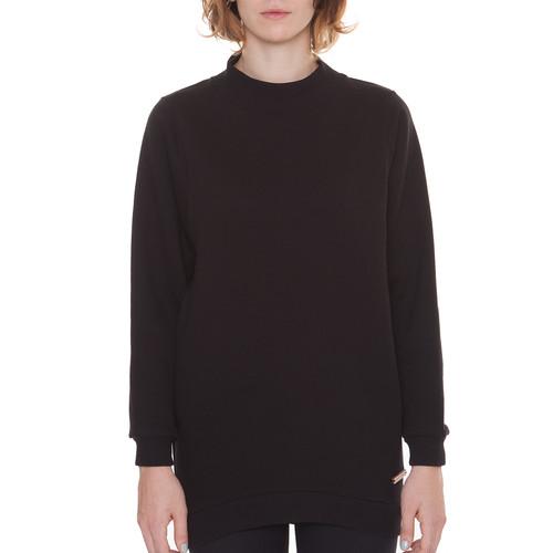 Толстовка ONE TWO Черника Oversize женская (Черный, M) футболка one two клиф женская черный m