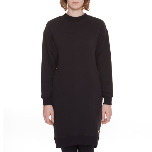 Платье ONE TWO Черника (Черный, XS)