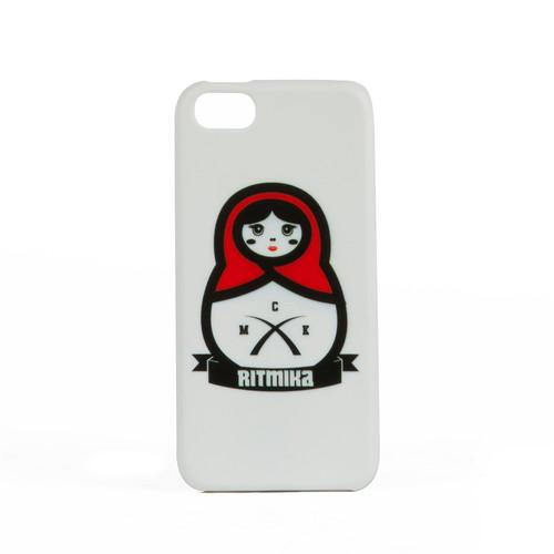 Чехол RITMIKA Matreshka (Белый, iPhone 5) цена и фото