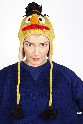 Шапка KNITWITS Bert (Yellow) шапка knitwits elmo red