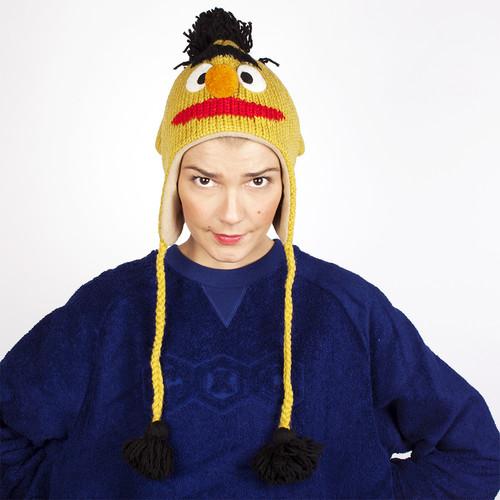 Шапка KNITWITS Bert (Yellow) шапка knitwits unicorn white
