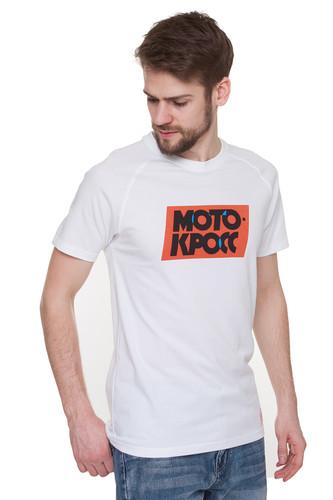 Футболка ЗАПОРОЖЕЦ Motokross Typo (White, 2XL)