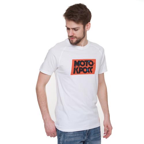 Футболка ЗАПОРОЖЕЦ Motokross Typo (White, 2XL) цена и фото