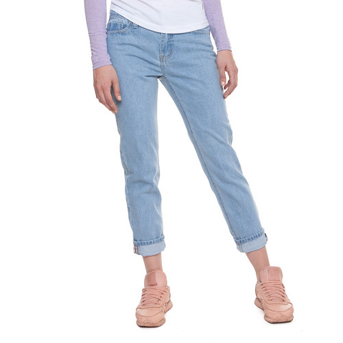 e030f95851c ... Джинсы ЗАПОРОЖЕЦ Ladies Denim Zap Boyfriend Flex женские Light Blue  фото 15 ...