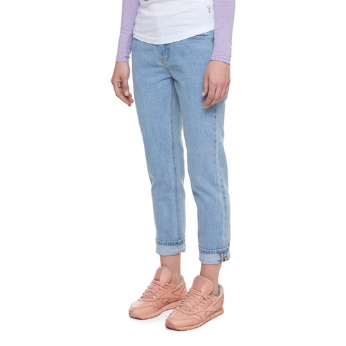 c0693264a91 ... Джинсы ЗАПОРОЖЕЦ Ladies Denim Zap Boyfriend Flex женские Light Blue фото  18 ...
