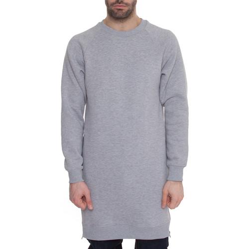Толстовка SKILLS Long Sweatshirt (Серый Меланж, S) цена и фото