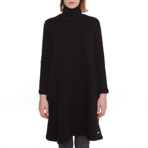 Платье ONE TWO Гимнастика трапеция (Черный, O/S)