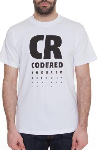 Футболка CODERED Regular Vision (Белый, M) футболка codered regular description crossline белый l