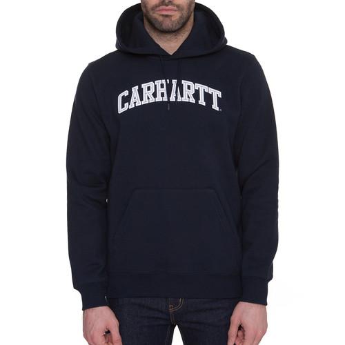 Толстовка CARHARTT Hooded Yale Sweatshirt (Navy/White, 2XL) шляпа carhartt wip i022801 navy white