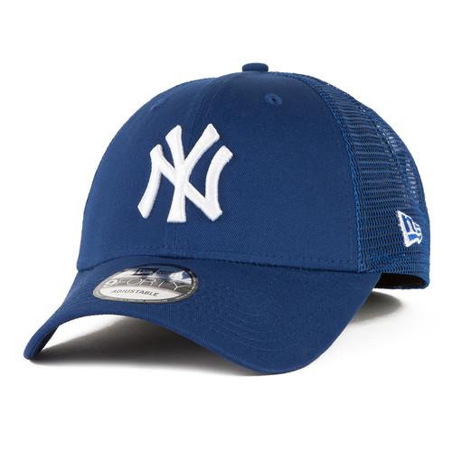 Бейсболка NEW ERA Core 9Forty Trucker Neyyan Lry Baseball cap (Синий, O/S) бейсболка new era 251 ny state 9forty ne цвет синий 11874976 nvy размер универсальный
