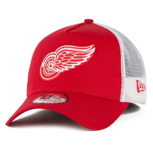 Бейсболка NEW ERA Nhl Trucker Detred Sca Baseball cap (Красный, O/S) бейсболка new era hockey trucker torlea navy o s