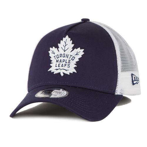 Бейсболка NEW ERA Nhl Trucker Torlea Lnv Baseball cap (Синий, O/S) бейсболка new era hockey trucker torlea navy o s