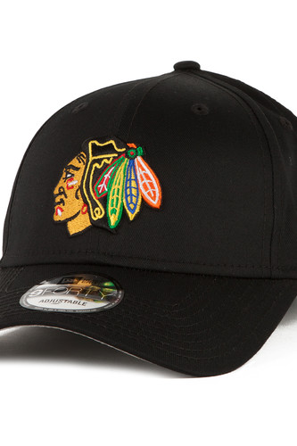 Бейсболка NEW ERA 102 Entry 9Forty Nhl Chibla Otc Baseball cap (Черный, O/S) baseball cap