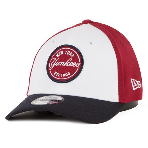 Бейсболка NEW ERA 833 Mlb Contrast Patch Neyyan Carnvy Baseball cap (Красный/Синий, M/L)