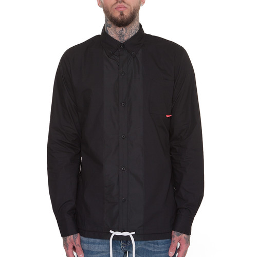 купить Лонгслив CROOKS & CASTLES Chequered L/S Shirt (Black, XL) по цене 3930 рублей