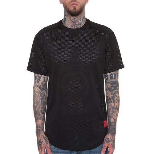Футболка CROOKS & CASTLES Course Medusa S/S T-Shirt (Black, XL) мужская футболка brand t shirt 2015 2 t s xxxxl s m xl xxl 3xl 4xl