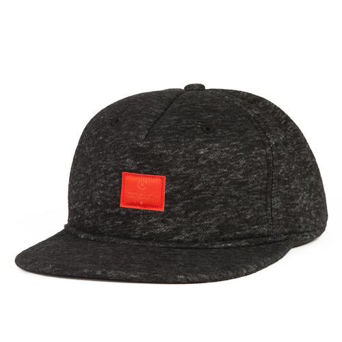 Бейсболка CROOKS & CASTLES Crks Label Snapback Cap (Black, O/S) unique numbers label adjustable baseball cap