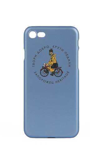 Чехол ЗАПОРОЖЕЦ Простоквашино Печкин (Голубой, IPhone 7+) стоимость