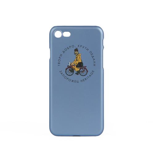 Чехол ЗАПОРОЖЕЦ Простоквашино Печкин (Голубой, iPhone 6+)