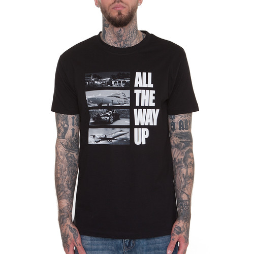 Футболка MISTER TEE All The Way Up Stairway Tee (Black, 2XL) футболка mister tee cream skull tee white 2xl