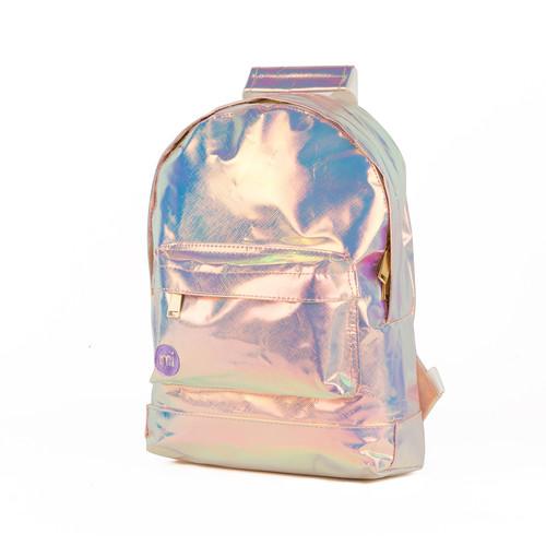 Рюкзак MI-PAC Mini Hologram (Iridium-015) 12storeez платье с металлизированным эфектом черный