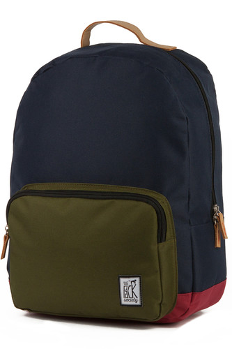 Рюкзак THE PACK SOCIETY Classic Backpack 999PCL702 (Midnight Blue/Forest Green/Burgundy-26)