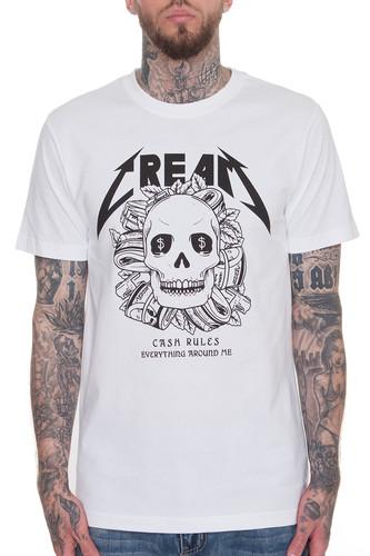 Футболка MISTER TEE Cream Skull Tee (White, 2XL) футболка famous fms sign tee white 2xl
