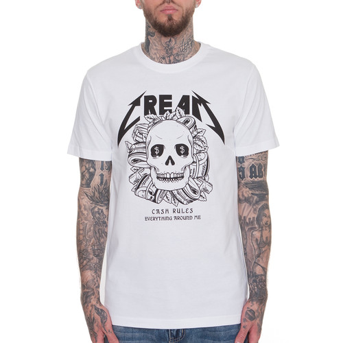 Футболка MISTER TEE Cream Skull Tee (White, 2XL) футболка mister tee cream skull tee white 2xl