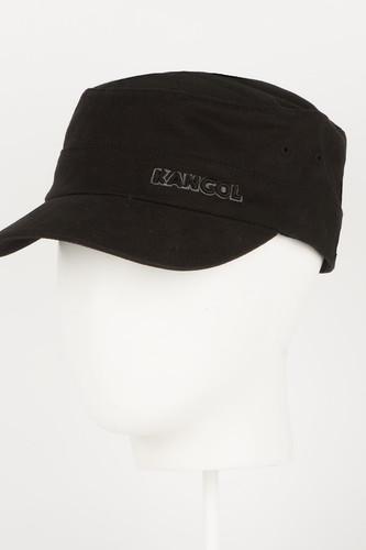 Бейсболка KANGOL Cotton Twill Army Cap (Black-BK001, L/XL)