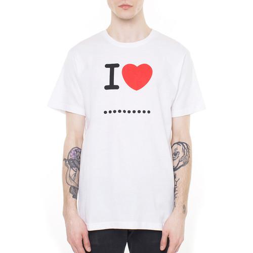 купить Футболка MISTER TEE I Love ... (White, M) по цене 495 рублей