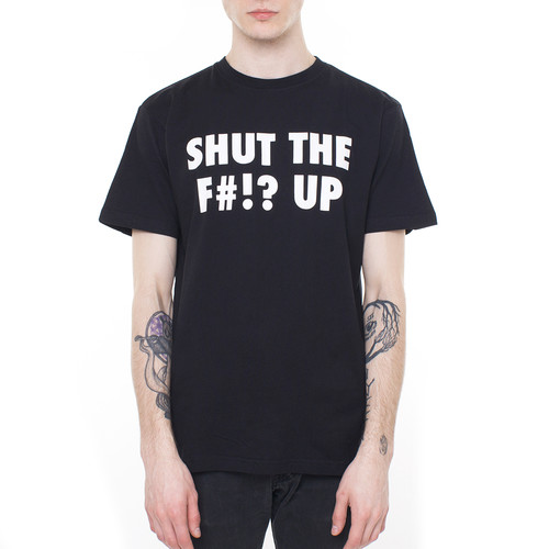 Фото - Футболка MISTER TEE Shut ... Up (Black, XL) футболка mister tee easy livin tee black xl