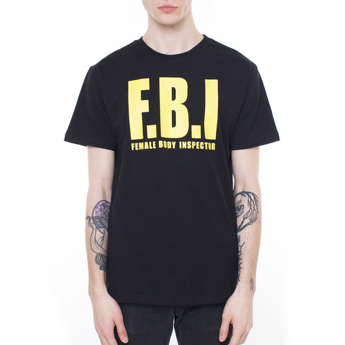 Футболка MISTER TEE FBI (Black, L) футболка mister tee ballin tee ruby l