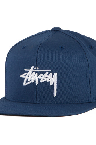 Бейсболка STUSSY Stock SP17 Cap (Navy, O/S)