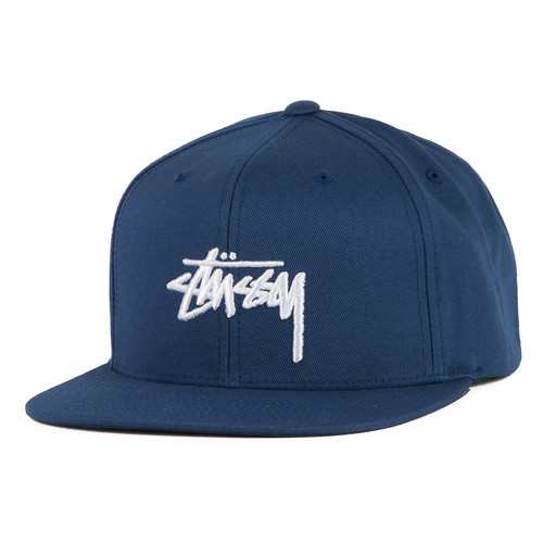 Бейсболка STUSSY Stock SP17 Cap (Navy, O/S) цены онлайн