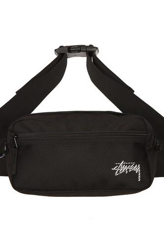 Сумка STUSSY Stock Side Bag (Black) толстовки stussy толстовка stock app crew 118264 black l
