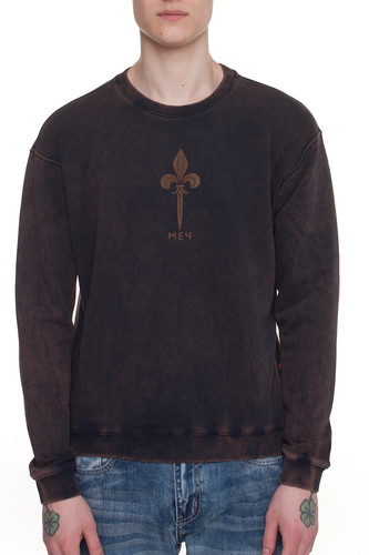 Толстовка МЕЧ SW M BiostoneWash (Темно-Синий, S) толстовка мужская mustang printed hoodie цвет темно синий 1006029 4085 размер m 48