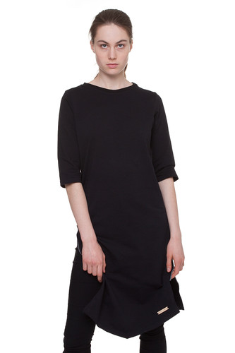 Платье ONE TWO Молния Геометрия (Черный, M) женское платье sv005485 s m l