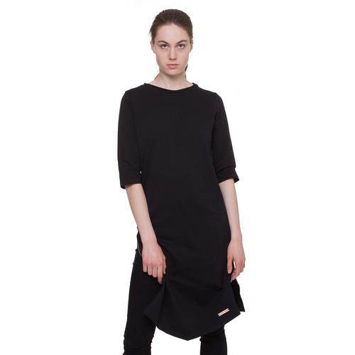 Платье ONE TWO Молния Геометрия (Черный, M)