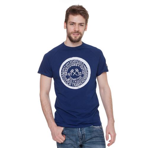 Футболка ЗАПОРОЖЕЦ Вязальная (Темно-Синий, 2XL) футболка запорожец вязальная темно синий 2xl
