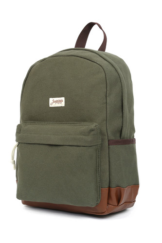 Рюкзак ЗАПОРОЖЕЦ Small Daypack SS17 (Green/Brown)