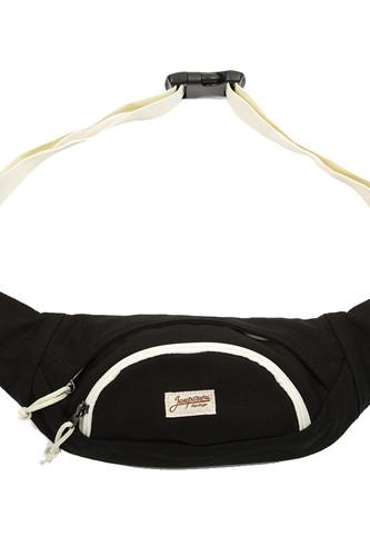 Сумка ЗАПОРОЖЕЦ Big Waist Bag (Black/White)